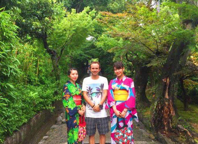 Kimono Giyen Kızlar