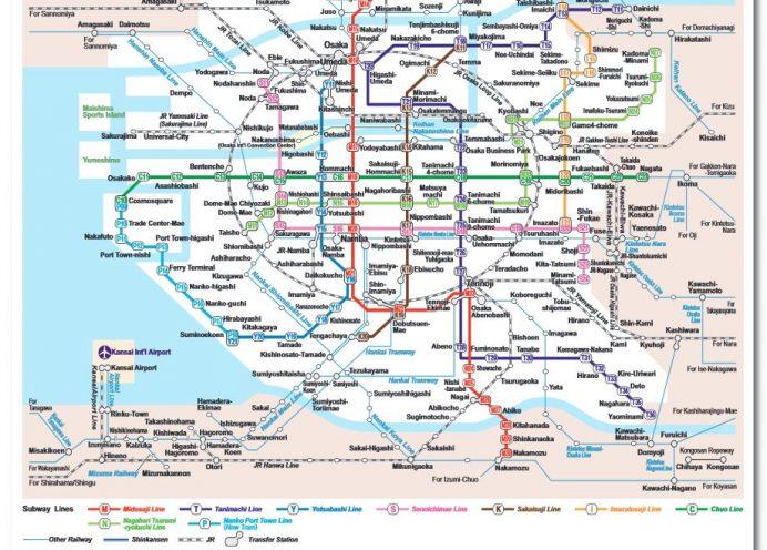 Osaka Metro Hattı