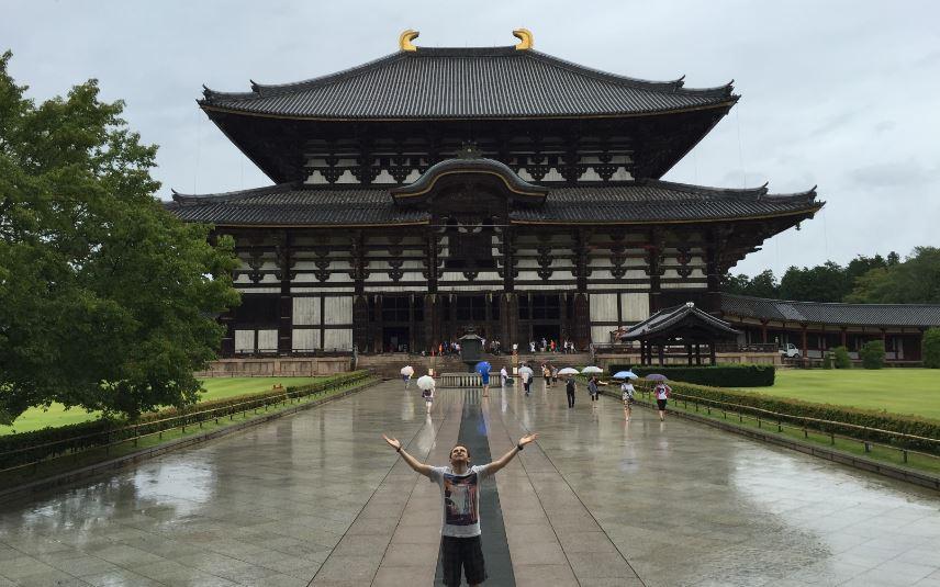 Todaiji (Bir Budist Tapınağı)- Nara-Japonya