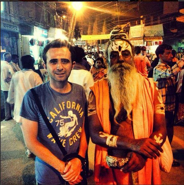 Varanasi Hindistan sadular