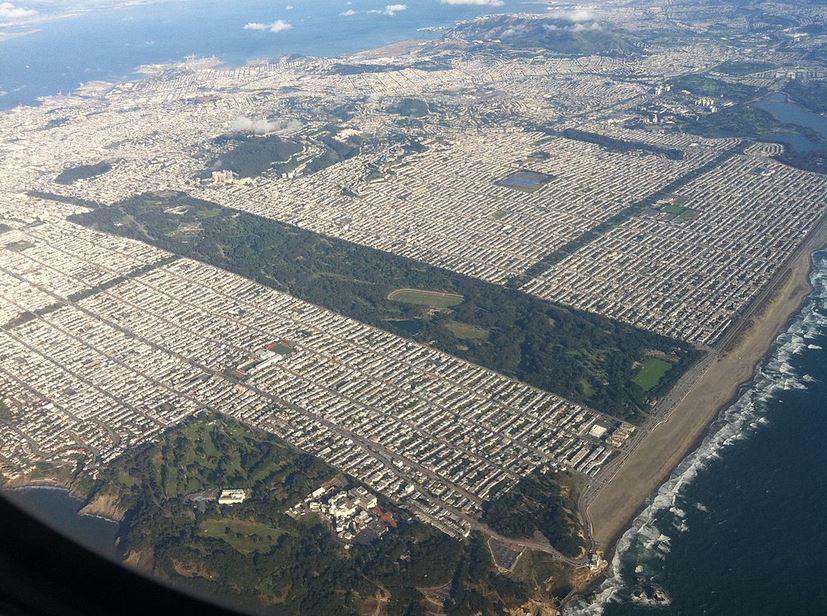 Golden Gate Parkı-Bu Kadar Büyük İşte
