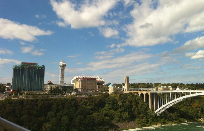 Kanada Tarafında Bulunan Otel ve Casinolar