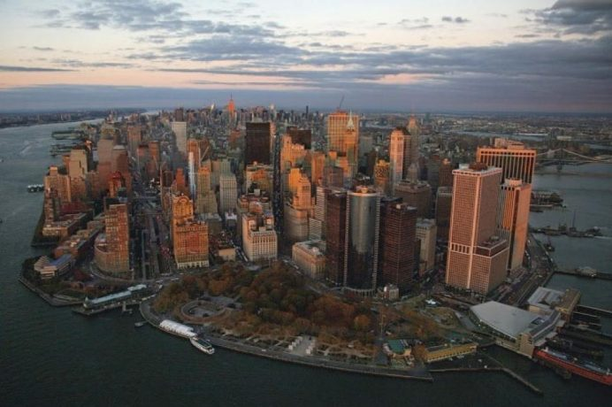 new - york - manhattan - manzarası