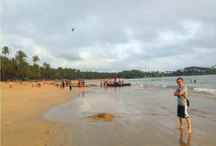 Goa Sahilleri-Burası bir balıkçı kasabası
