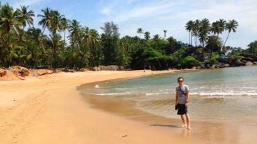 Palolem Beach-Goa-Hindistan