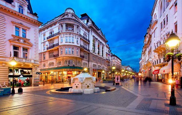 Knez Mihailova Caddesi-Belgrad