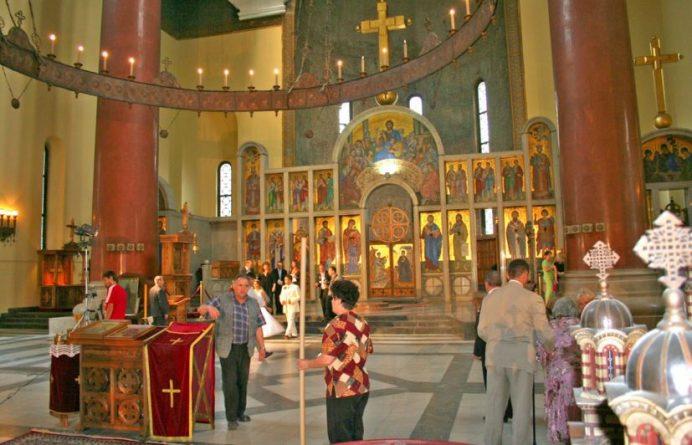 St. Mark's Kilisesi-Belgrad