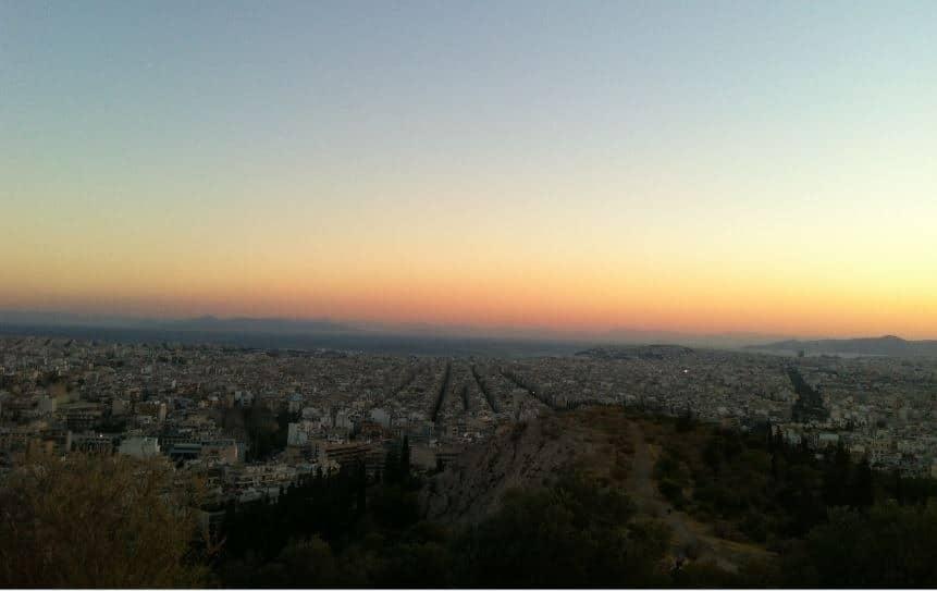 Akşamüzeri_Atina_Manzarası