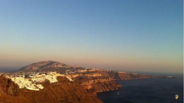 Santorini Yamaçları