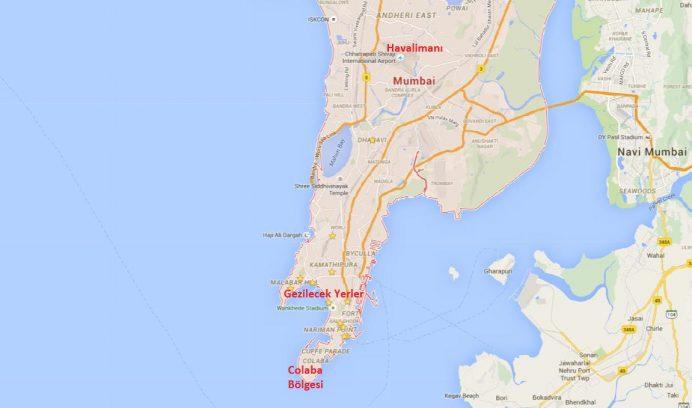 Mumbai Haritası