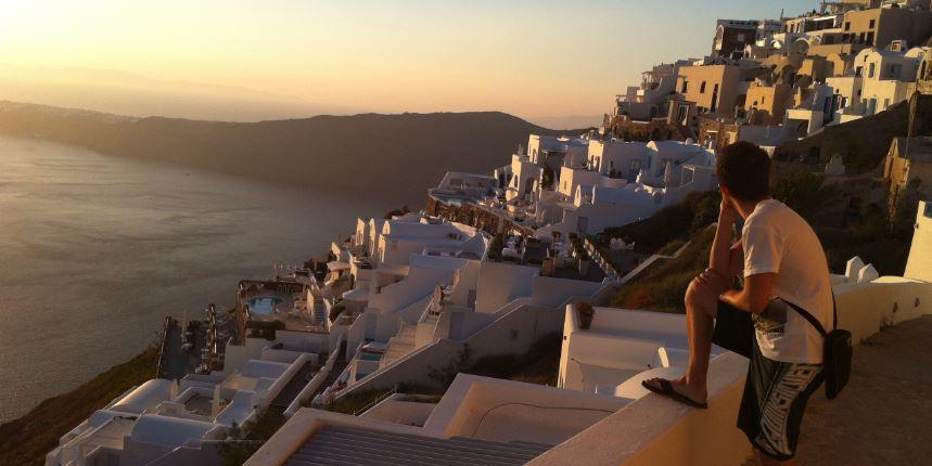 Santorini_Akşamüzeri_Günbatımı