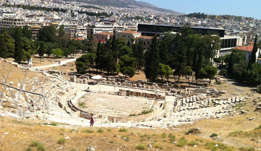 atina dionysos tiyatrosu
