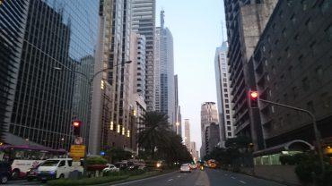 Başkent Manila Sokakları
