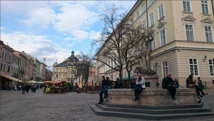 lviv rynok meydanı Sokakları