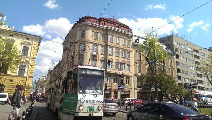 lviv Şehir İçinde Kullanılan Tramvaylar
