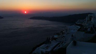 Santorini-Günbatımı