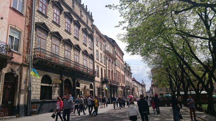 ukrayna lviv Sokakları