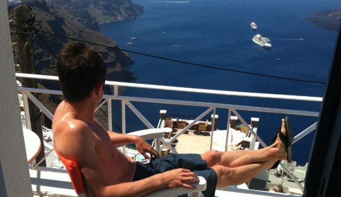 Santorini_Konakladığımız_Otel