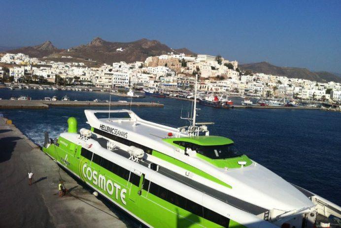 mikanos - yunan - adaları - ulaşım - feribot