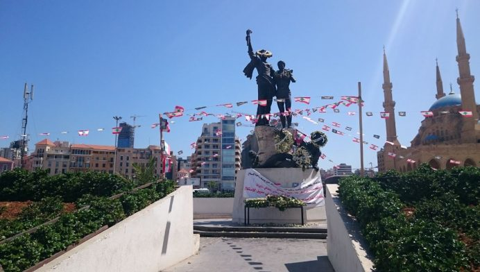 Place_des_Martyrs_Anıtı
