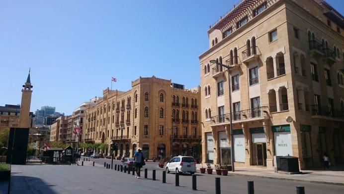 lübnan - beyrut - sokakları
