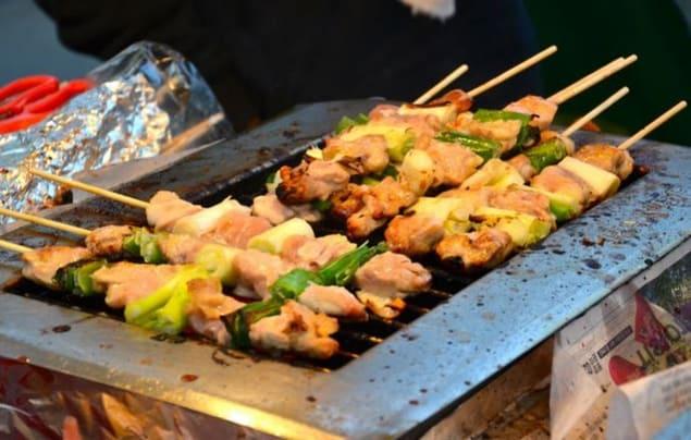 Dak Kkochi, güneu kore yemekleri