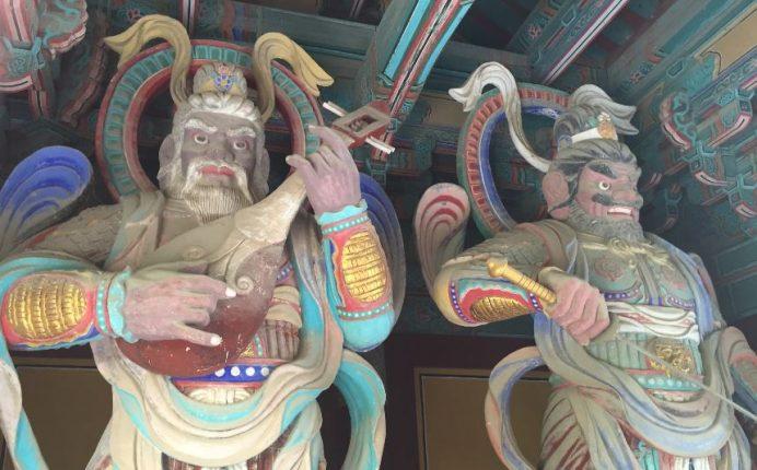 Bulguksa_Temple_Tapınağı_Girişi