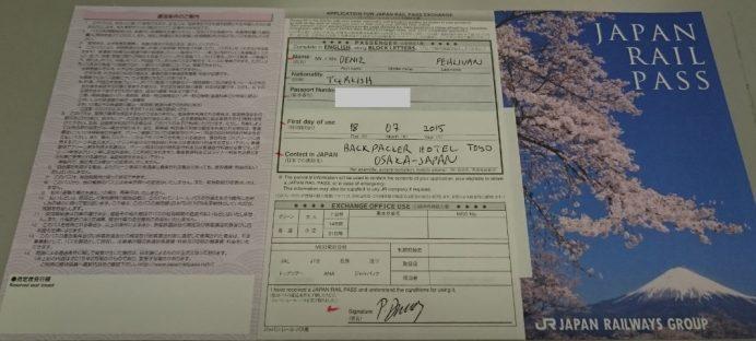 JR Pass (Biletlenmiş Hali)