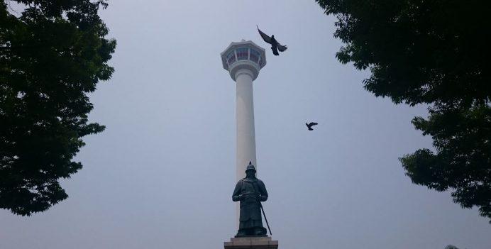 Busan_Tower_Kulesi_ve_Yongdusan_Parkı