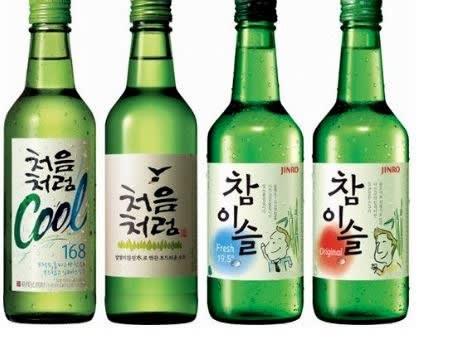 güney kore içeceği soju