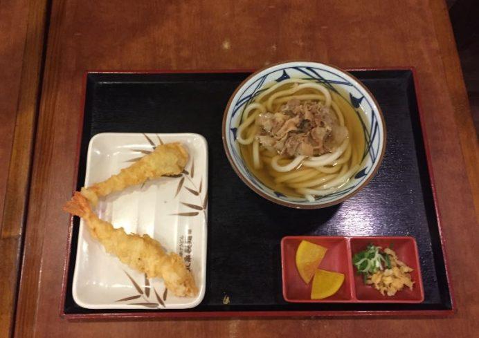 Udon_karides_tempura