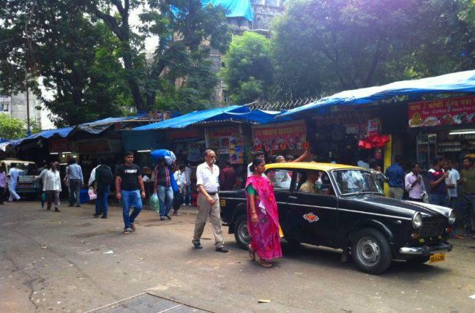 Hindistan'da Taksiler Heryerde