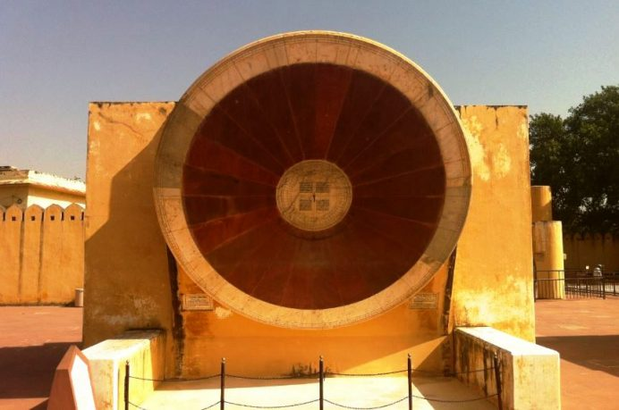 Jaipur (Meşhur Astronomi Gözlem Evi)