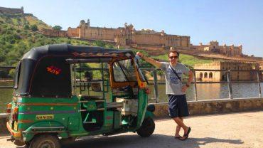 hindistan - ulaşım - tuktuklar
