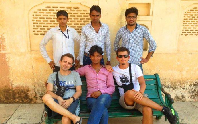 Jaipur-Hindistan (Oralarda çok meşhurduk.)