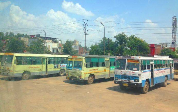 Hindistan'da Otobüsler