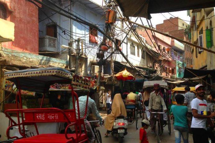 Delhi Sokakları...