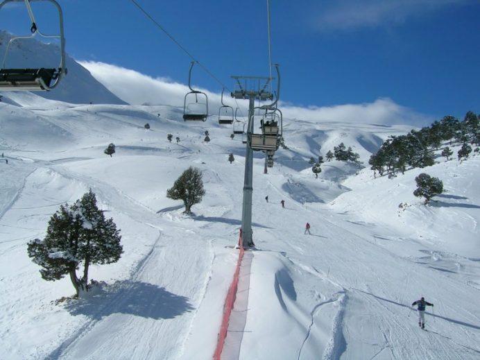 kayak tesisleri ısparta davraz