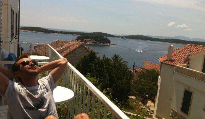 hvar adası hırvatistan interrail