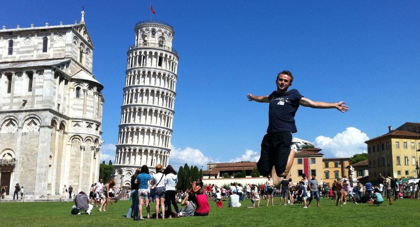 Pisa-İtalya Gezilecek Yerlerin Başında Gelen Güzel Yerlerden
