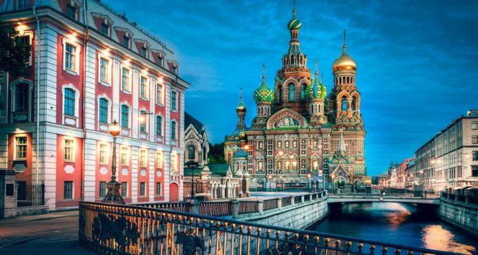 Saint Petersburg-Rusya