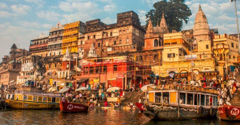 Varanasi-Hindistan