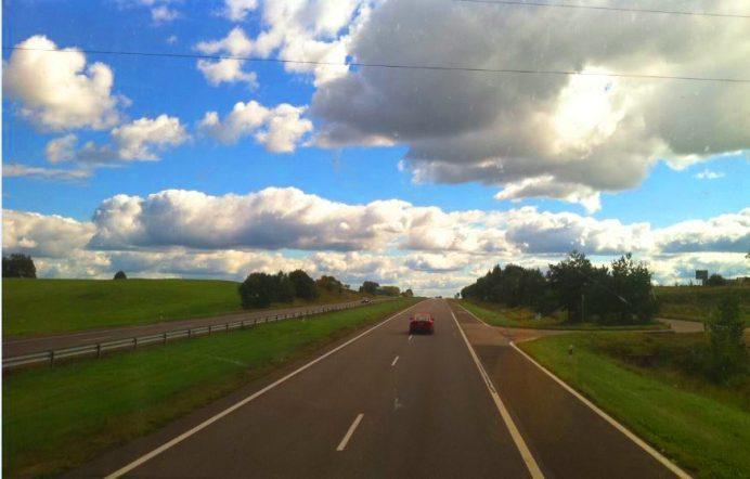 Riga'dan, Litvanya'nın başkenti Vilnius'e yaptğımız otobüs yolculuğu