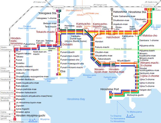 Hiroşima Tramvay Hattı