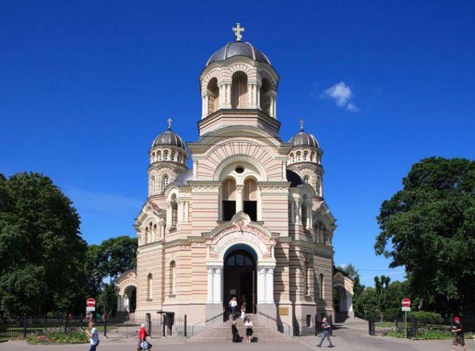 Riga Rus Ortodoks Kilisesi-Riga-Letonya