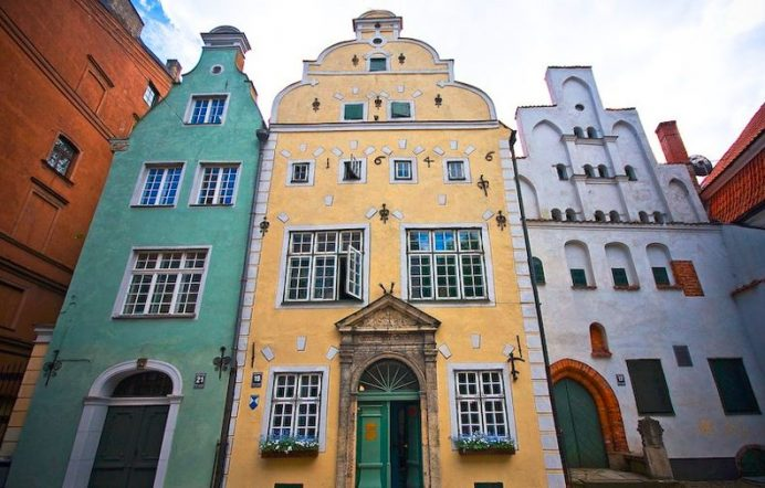 Three Brothers-Riga-Letonya