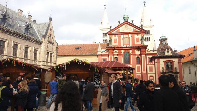 Prag_Kalesinin_İç_Avlusu