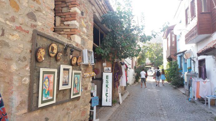 Bozcaada Sokak görüntüsü