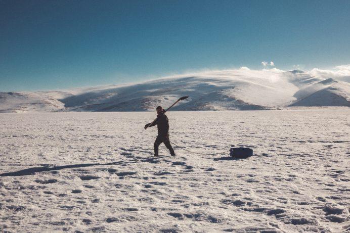 Avlanmaya giden bir balıkçı kars