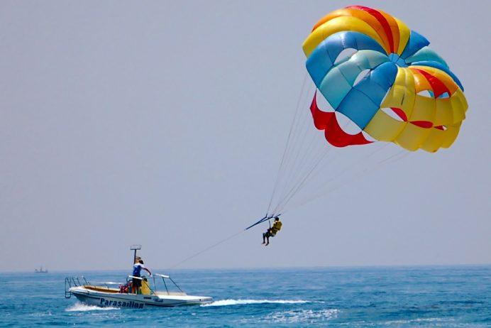 antalya belek aktiviteler parasailing